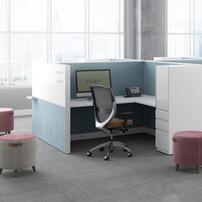 Kimball cubicle furniture panel system f