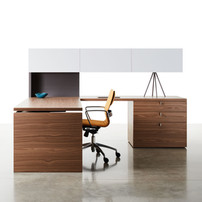 height adjust desk with surround private