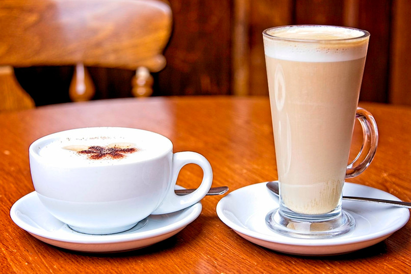Cappuccino and Latte
