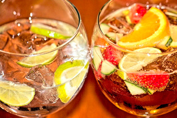 Gin and Pimms
