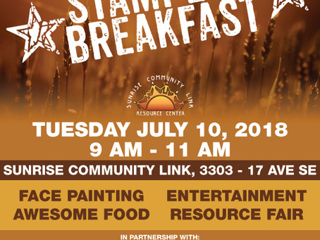 Rise and Shine Stampede Breakfast