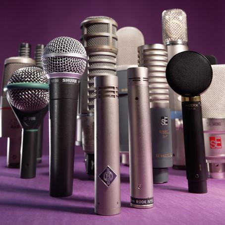 Guía para elegir micrófonos - Parte 1