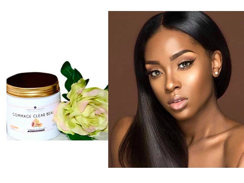 Clear Beauty Exfoliation Clear natural shiny complexion