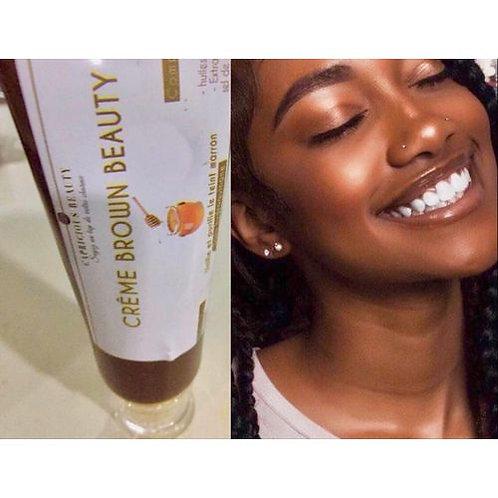 Crème de visage Brown Beauty- Teint cacao éclatant
