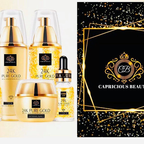 Gamme 24 K Or Beauty - Teint lumineux