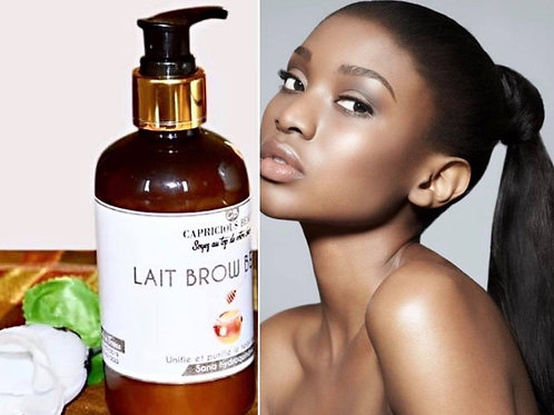 Lait Brown Beauty- Teint cacao éclatant