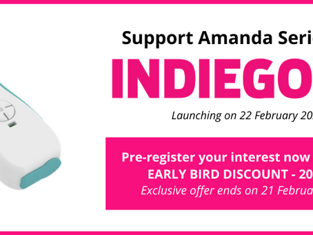 Amanda Series 1 - Enjoy 20% Off with Super Early Bird Discount