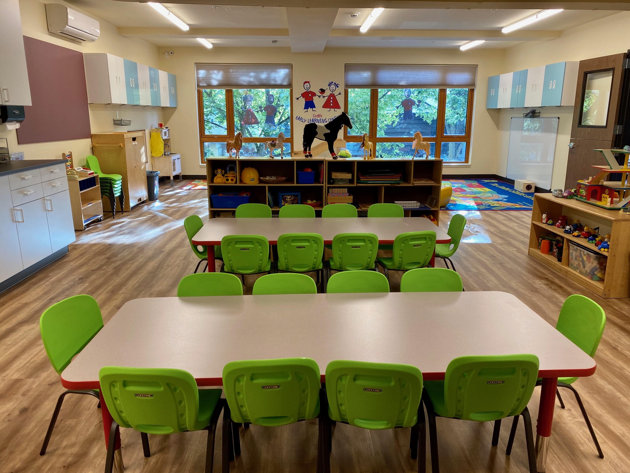Early Preschoolers Classroom