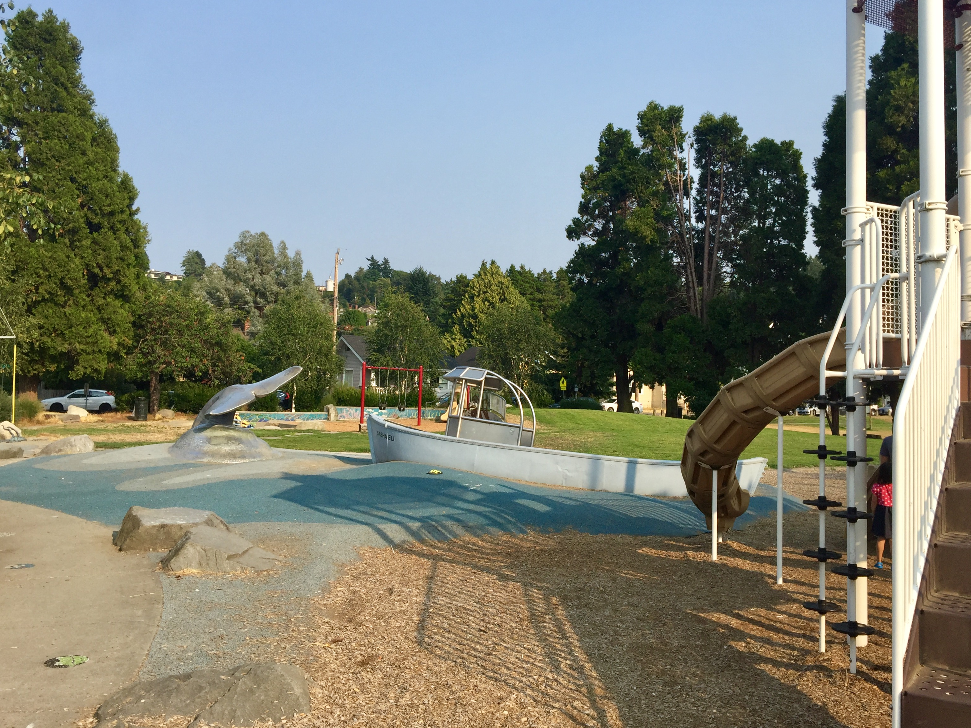 Alki Playground and Whale Tail Park