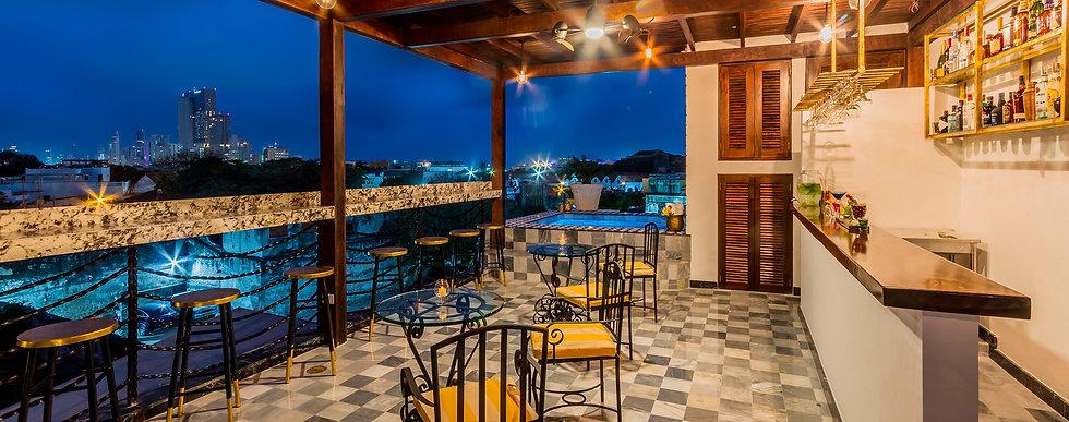 Rooftop | Hotel Monaguillo de Getsemaní | Cartagena