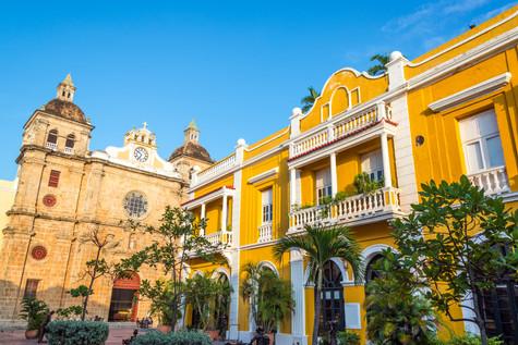 Plaza e Iglesia de San Pedro Claver Bolivar   Cartagena