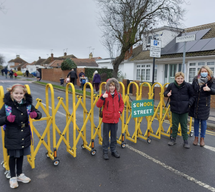 School Streets launched to improve air quality and promote active travel