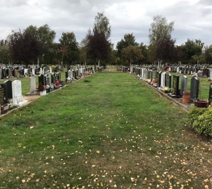 Sutton Road cemetery – memorabilia and maintenance on lawn graves next year