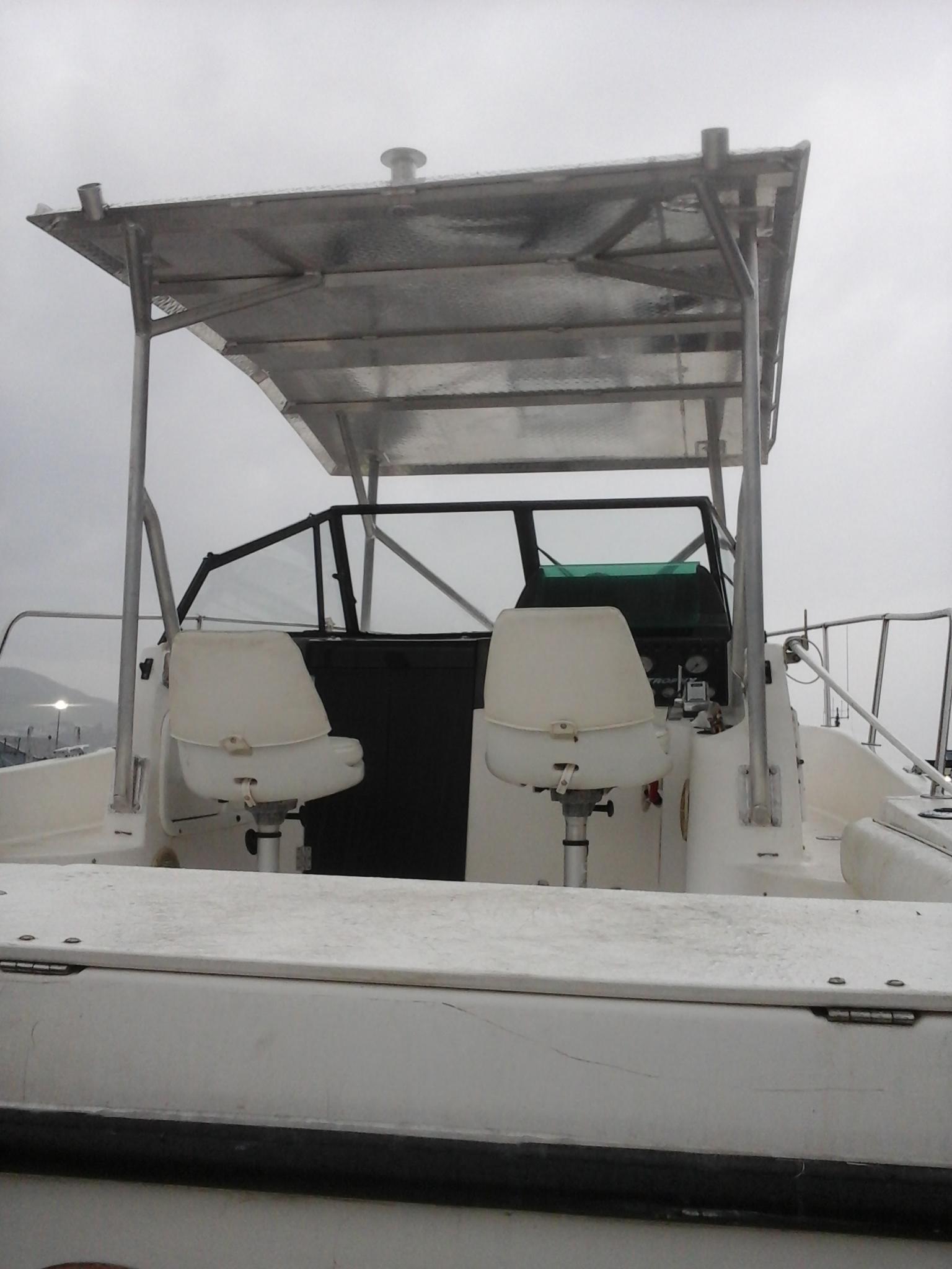 Rack sur bateau de plaisance vue 1