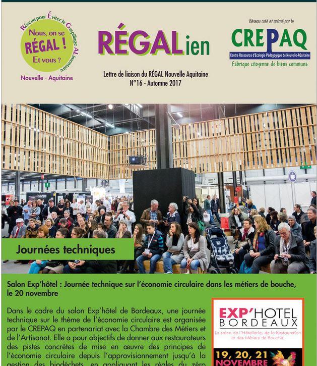 RÉGALien n°16 - Octobre 2017