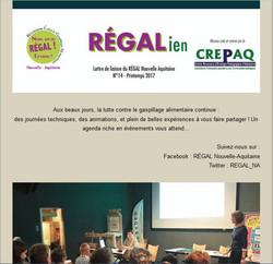 RÉGALien n°14 - Printemps 2017