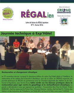 RÉGALien n°9 - Fèvrier 2016