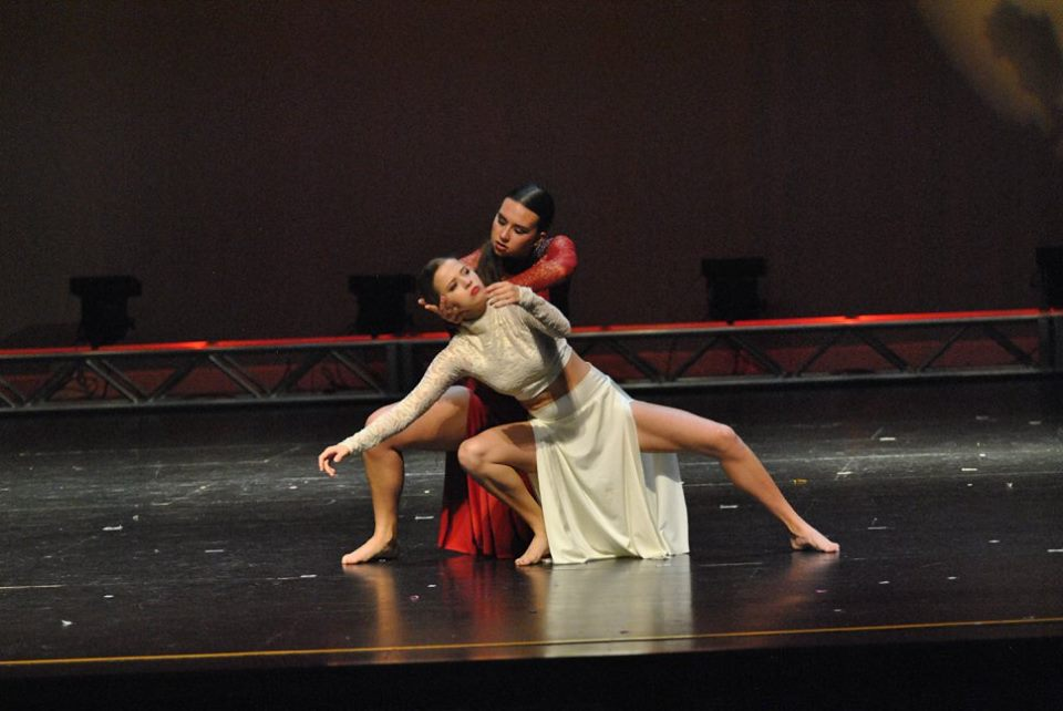 Student choreographed Duet