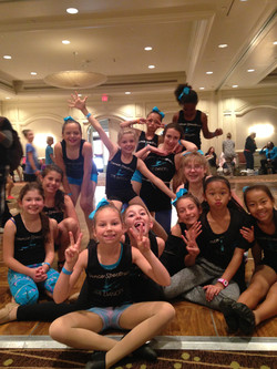SDE girls having fun at Convention