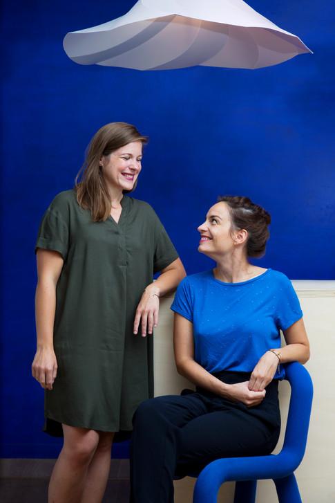 Amandine et Céline