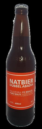 Natbier Dubbel Abadia 600ml
