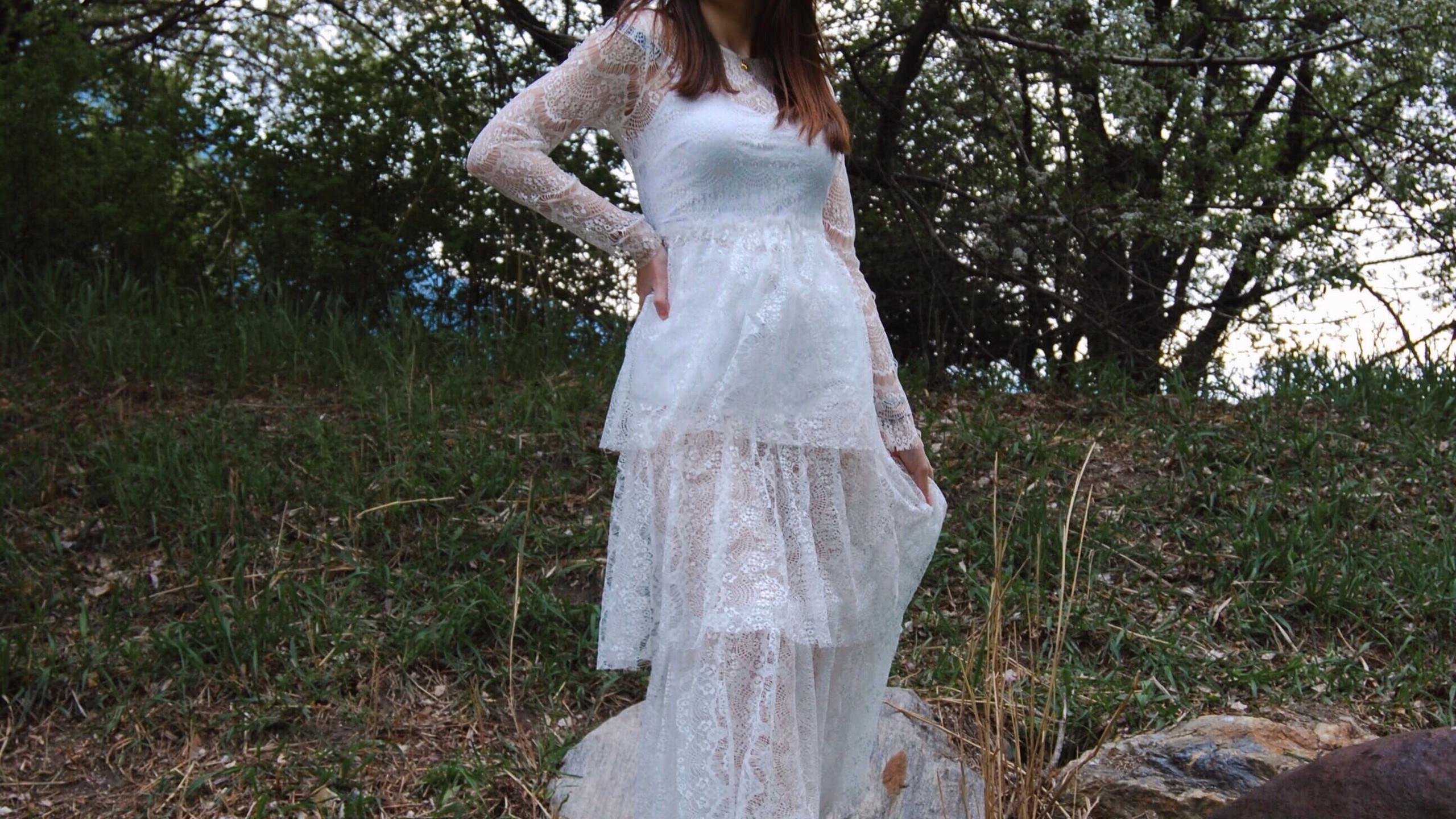 Weisses Kleid von NA-KD