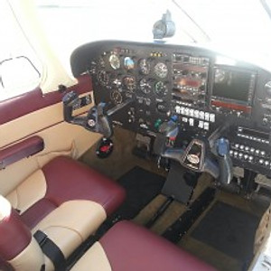 Our Piper PA28 Arrow Cockpit