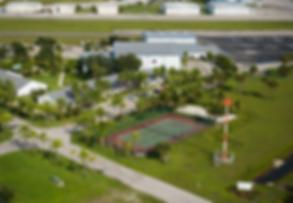 The facilities at flight school, European Flight Training in Florida , United States.