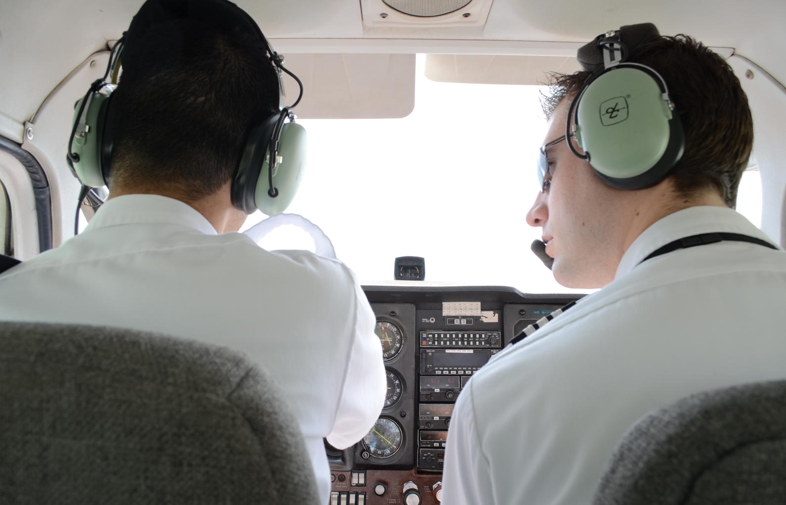 Pilot training and flight training