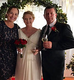 Kym Dave.jpg.  Fun, family orientated marriage celebrant married this couple on a cruise ship in Brisbane.