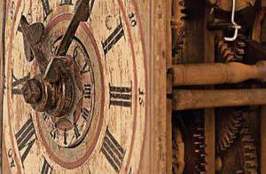 Sonderausstellung Holzräderuhren
