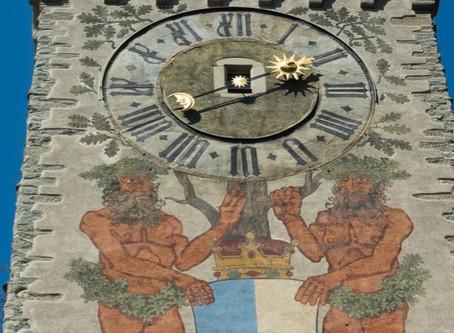Turmuhren in Luzern | sur les traces des horloges de tour à Lucerne
