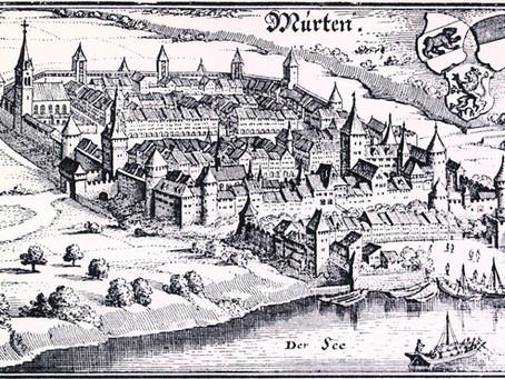Der Zeitturm in Murten
