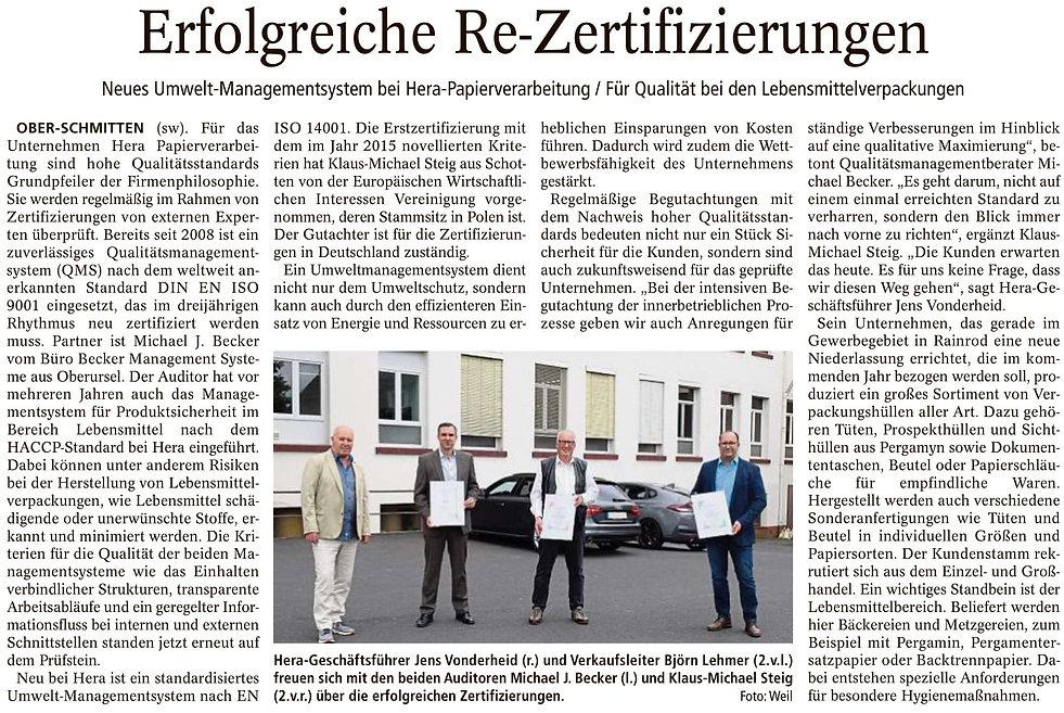 2021-08-24_Kreis-Anzeiger_Erfolgreiche_ReZertifizierungen.jpg