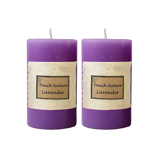 2pc Lavender Aromatherapy Candle