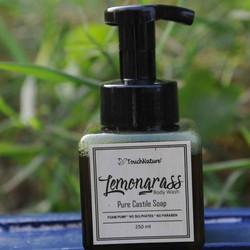 handmade-liquid-soap-foam-pump-lemongras
