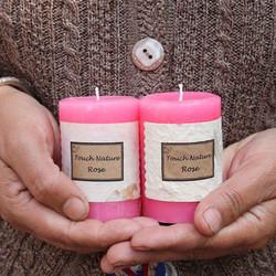 handmade-rose-pillar-candle-touch-nature