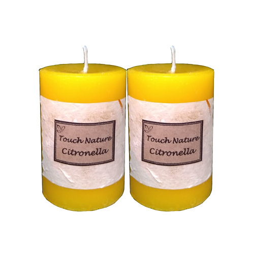 2pc Citronella Aromatherapy Candle