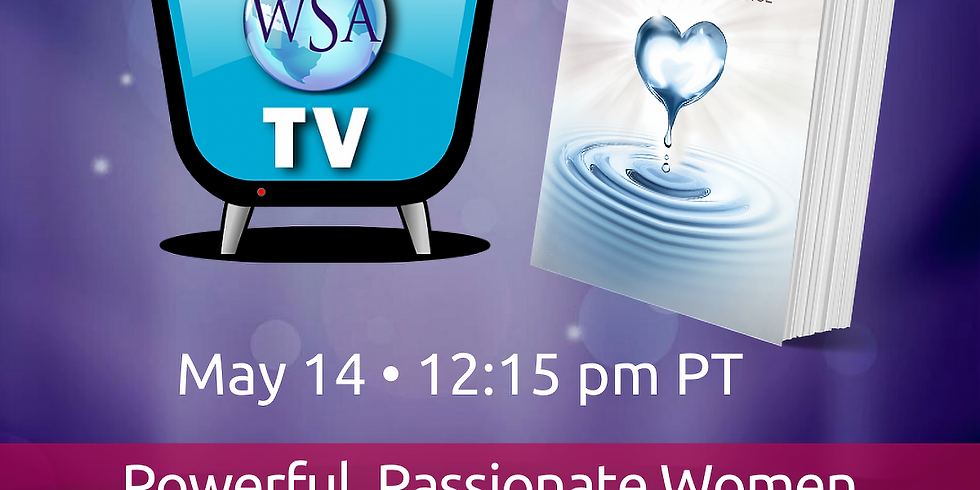 Author's Livestream: Powerful, Passionate Women Who Make a Difference