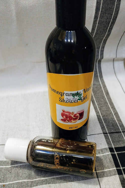 Pomegranate Vanilla Shower Gel