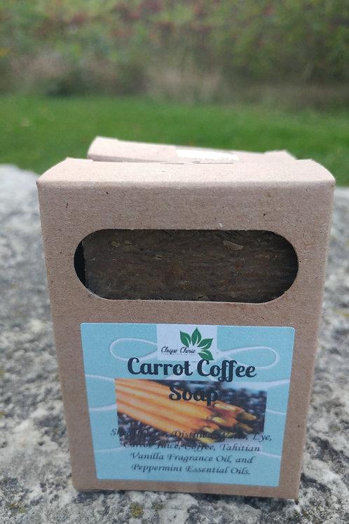 Carrot Coffee Soap