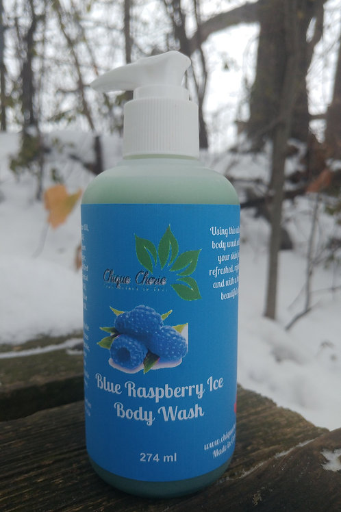 Blue Raspberry Ice Body Wash