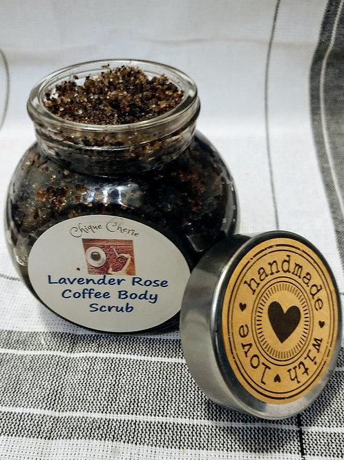 Lavender Rose Coffee Body Scrub