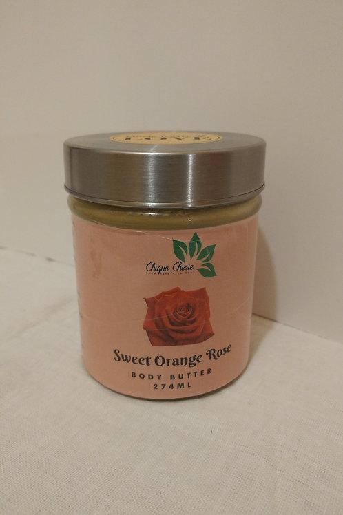 Sweet Orange Rose Body Butter