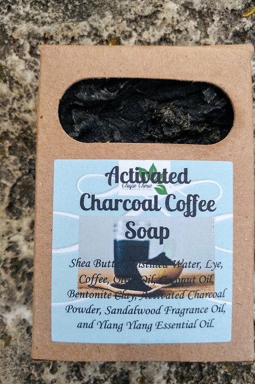 Activated Charcoal Coffee Soap