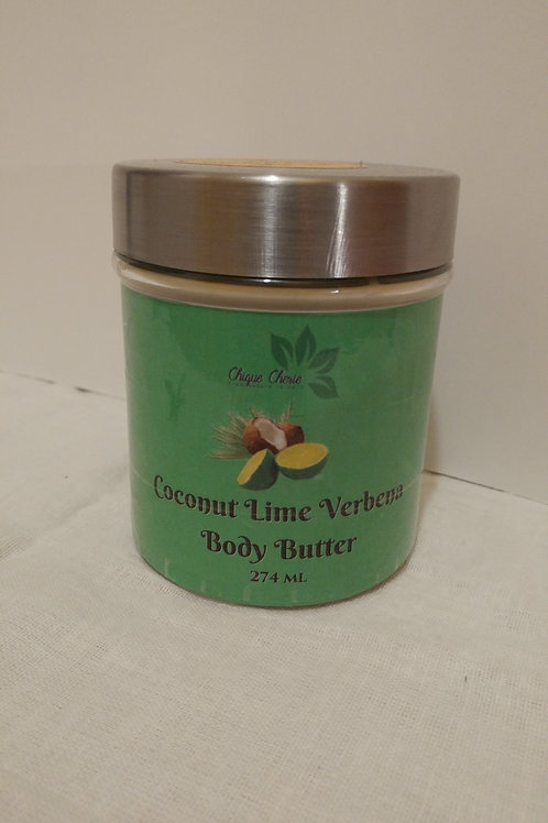 Coconut Lime Verbena Body Butter