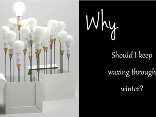 Why You Should Still Wax in Winter!