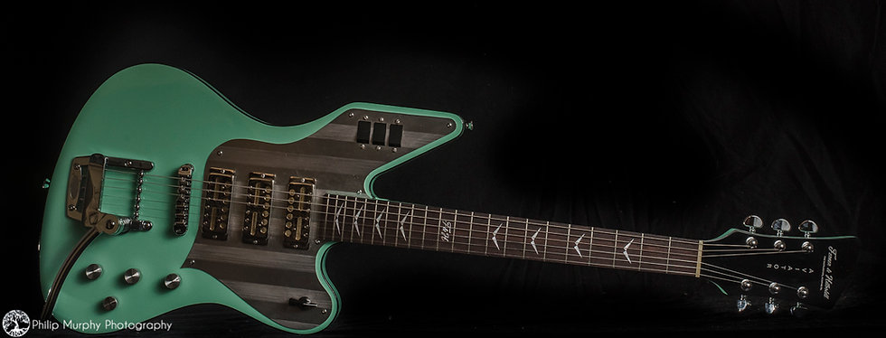 Ferner Fine Instruments The Aviator Guitar Model