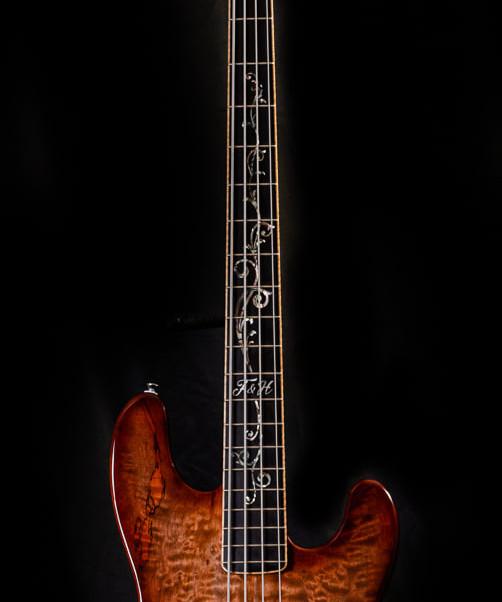 Custom PJ Deluxe 2020 Red Burst