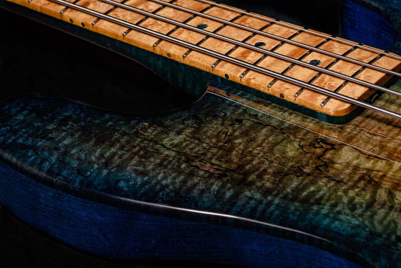 Custom PJ Deluxe 4 Color Burst